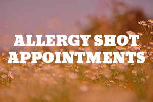 allergy shot appointments md