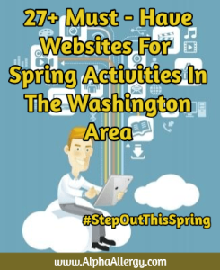 Websites for planning things to do in DC this spring