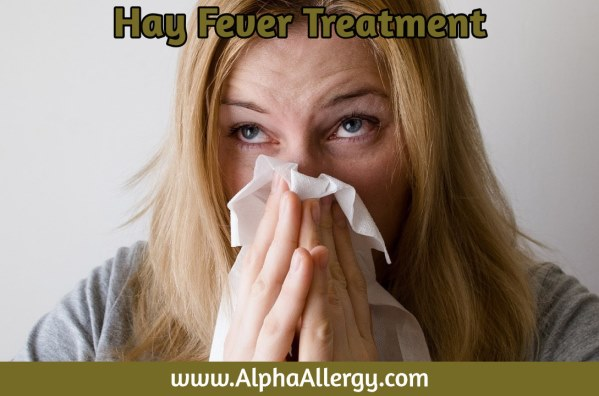 Image: Woman With Hay Fever