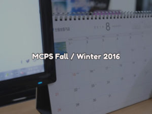 MCPS Back To School Update 2016 – 2017
