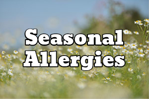 seasonal allergies hay fever relief DC MD VA