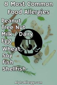 8 most common food allergies list